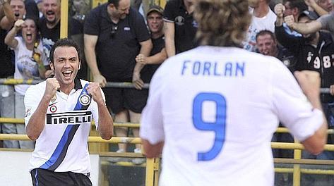 L'Inter riparte da Ranieri e Pazzini