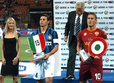 Zanetti e Totti, due bandiere a confronto