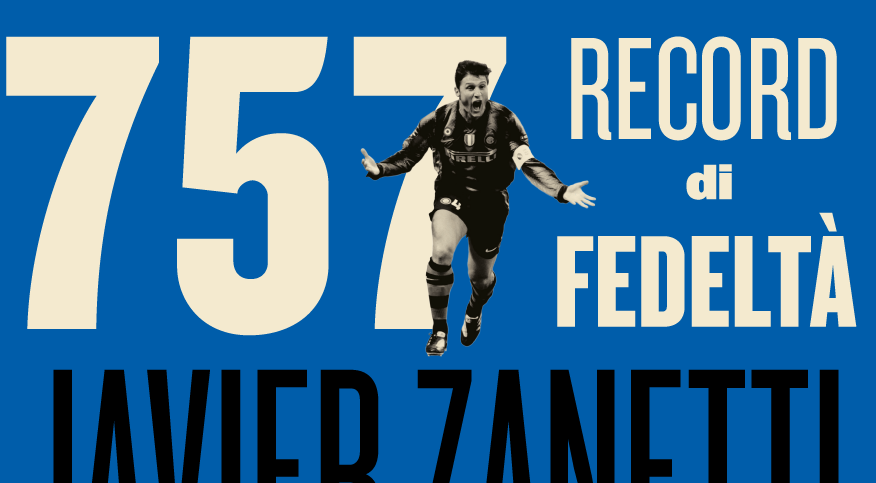 Zanetti fa 757: Inter in festa