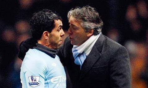 Mancini scarica Tevez. L'Inter ne approfitterà?