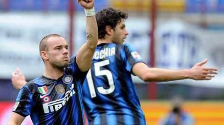 Verso Bologna: out Ranocchia e Sneijder