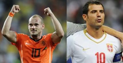 Sneijder e Stankovic trascinatori in patria. Vincono Olanda e Serbia