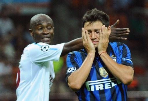 Inter, che disastro! Con il Trabzonspor terza sconfitta consecutiva