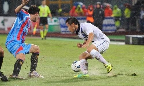 Che disastro! L'Inter crolla a Catania