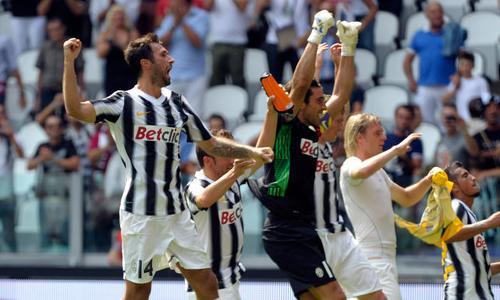 Conte recupera Buffon e Vucinic. Juve con la formazione tipo