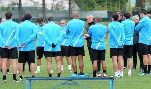I convocati di Ranieri: assenti Julio Cesar, Chivu e Sneijder