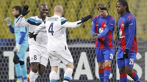 Il Lille batte il Cska Mosca. L'Inter è già agli ottavi