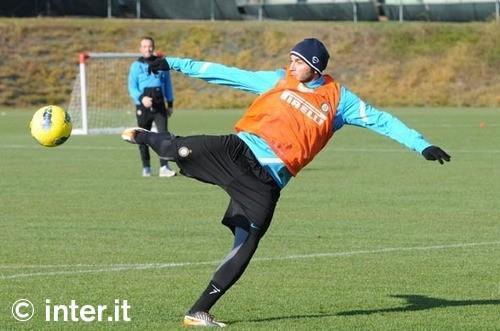 Penultimo allenamento verso Inter-Cagliari