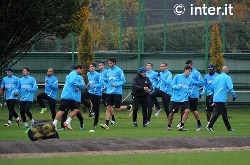 Verso Genoa-Inter, seconda seduta per i nerazzurri