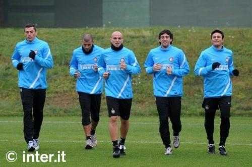 Verso Genoa-Inter, primo allenamento per i nerazzurri