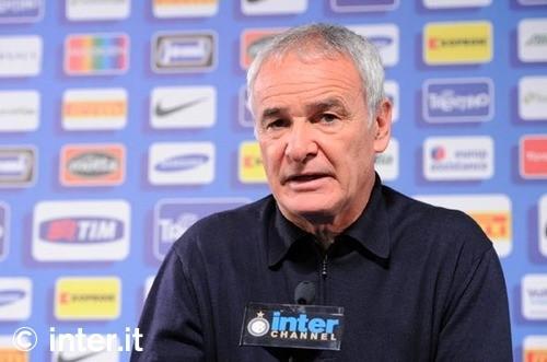 LIVE - La conferenza stampa di Ranieri in vista di Siena-Inter