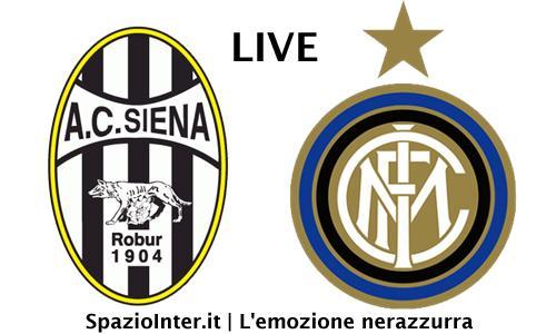 Castaignos all'ultimo respiro: Siena-Inter 0-1