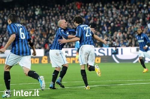 Attacco ancora a secco, ma l'Inter scala posizioni
