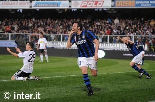 Rivivi le emozioni del 2011: Cesena-Inter 1-2