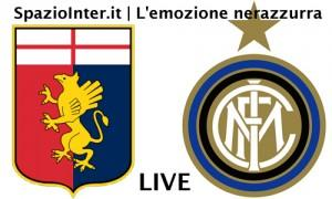 LIVE Genoa vs Inter
