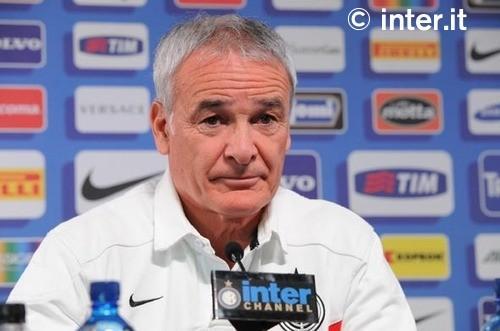 La conferenza stampa di Ranieri alla vigilia di Cesena-Inter