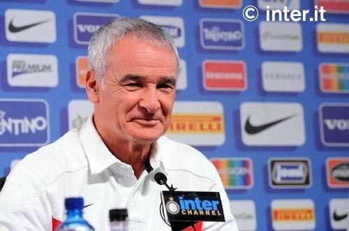 La conferenza stampa di Ranieri alla vigilia di Inter-Lecce