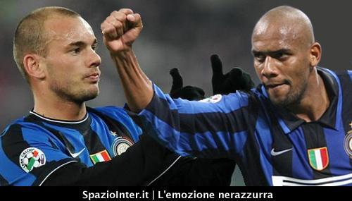 L'Inter si aggrappa a Maicon e Sneijder
