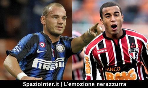 Fuori Sneijder, dentro Lucas?
