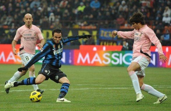 Rivivi le emozioni del 2011: Inter-Palermo 3-2