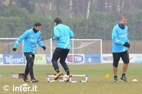 Lecce-Inter, i convocati: Motta non recupera. Ancora out Forlan e Stankovic