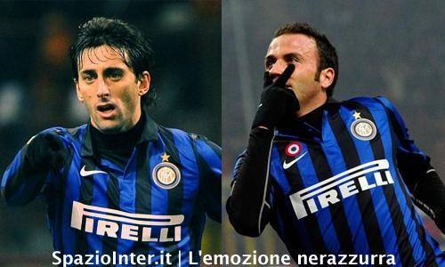 Milito e Pazzini trascinano l'Inter al quarto posto