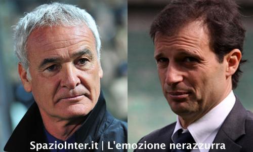 Ranieri vs Allegri: il derby in panchina