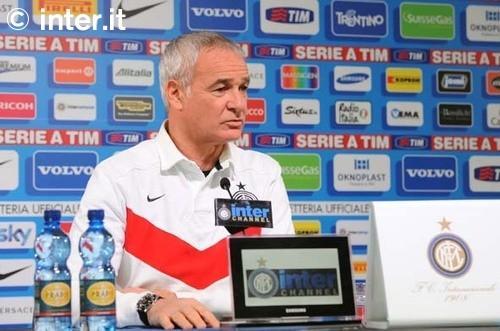 Le parole di Ranieri alla viglia di Inter-Lazio