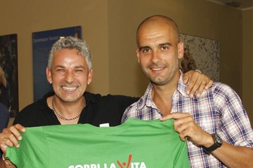 Moratti sogna la coppia Guardiola-Baggio per la panchina