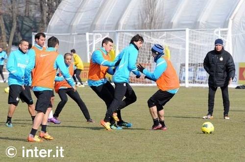 Appiano: individuale programmato per Alvarez, Cambiasso, Julio Cesar e Sneijder