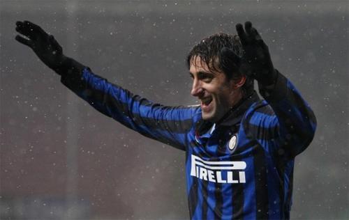 Verso Roma-Inter, Milito: