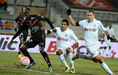 L'Olympique Marsiglia, senza Remy, non va oltre il pareggio contro il Valenciennes