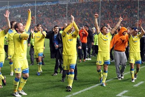 Incredibile errore della CNN: l'Apoel Nicosia diventa una squadra siciliana