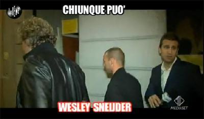 VIDEO - Sneijder pizzicato dalle Iene: