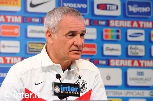 Le parole di Ranieri alla vigilia di Inter-Catania