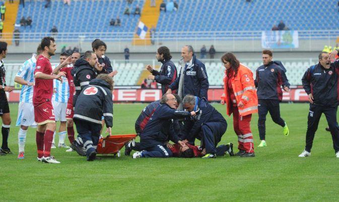 Dramma a Pescara. Piermario Morosini muore per arresto cardiaco