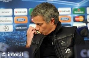 Mourinho bacia stemma Inter