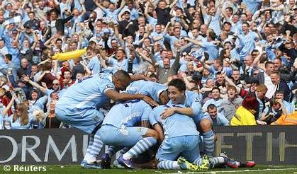 VIDEO - Manchester City da infarto: vince il titolo in rimonta con due gol nei minuti di recupero