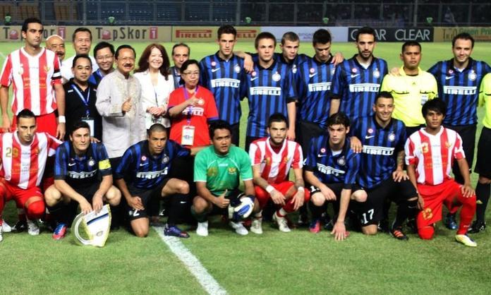 Indonesia Liga Selection-Inter 0-3, le parole dei protagonisti