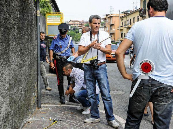 Bambina colpita da un proiettile vagante durante i festeggiamenti post Italia-Germania
