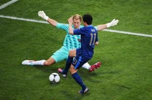 France-England 1-1 Nasri