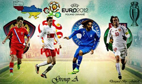 Euro 2012 - Gruppo A: <i>top&flop</i> di Grecia-Rep.Ceca e Polonia-Russia