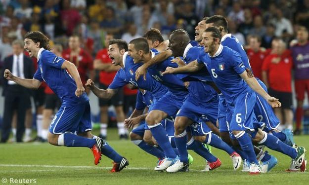 Euro 2012: Azzurri epici a Kiev, Italia meritatamente in semifinale
