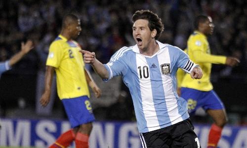 VIDEO - Messi show nel 4-0 dell'Argentina contro l'Ecuador