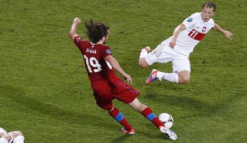 VIDEO - Euro 2012: Polonia vs Rep.Ceca 0-1