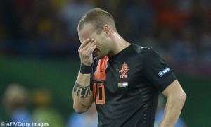 Portogallo-Olanda Sneijder deluso