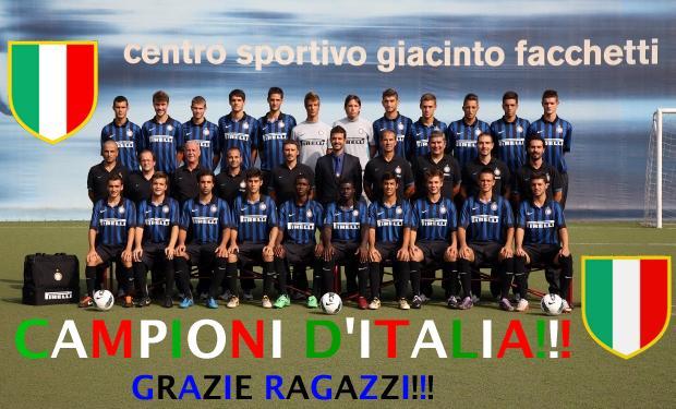 Primavera Campione d'Italia