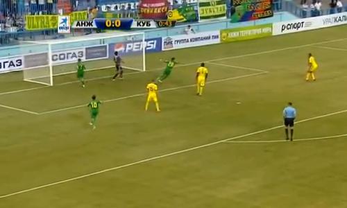 VIDEO - Anzhi, 42 secondi e l'autogol è servito...