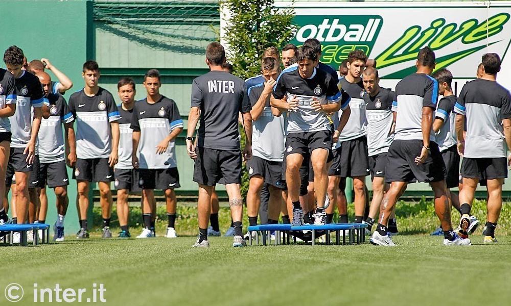 PHOTOGALLERY - L'Inter torna al lavoro ad Appiano per preparare il Trofeo Tim