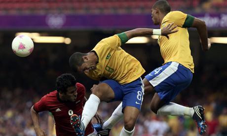 Brasile-Egitto Olimpiadi 2012 Londra